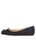 Womens Navy Suede Cain Square Toe Flat 7