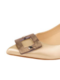 Womens Pearl Nappa Serena Pointed Toe Pump 6