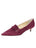 Womens Prune Brexit Pointed Toe Kitten Heel Alternate View