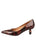 Womens Radish Patent Ilaria Pointed Toe Kitten Heel 7