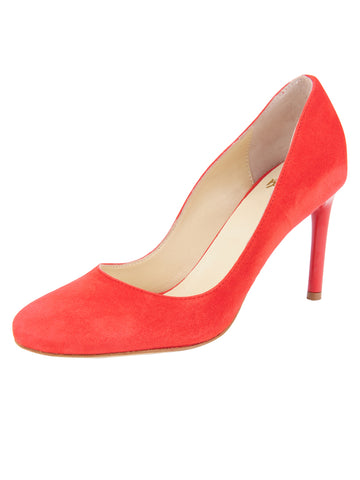 Womens Red Suede Onima Alternate View