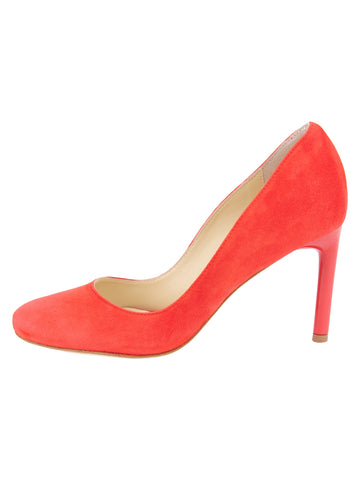 Womens Red Suede Onima 7
