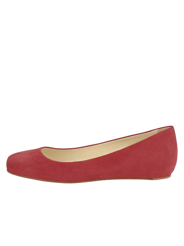 Womens Red Suede Cali 7