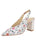 Womens Rose/White Snake Kendell Slingback Pump Alternate View