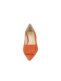 Womens Sienna Suede Beleney Pointed Toe Kitten Heel 4
