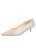 Womens Silver Daisy Born Pointed Toe Kitten Heel Alternate View