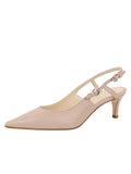 Womens Stone Nadav Pointed Toe Pump