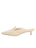 Womens Tapioca Tumbled Leather Bablina Kitten Heel Mule 7