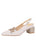 Womens White Nappa Nixon Slingback Pump Alternate View
