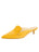Womens Yellow Suede Bablina Kitten Heel Mule Alternate View