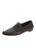Womens Black Leather Kellie Pointed Toe Flat Alternate View