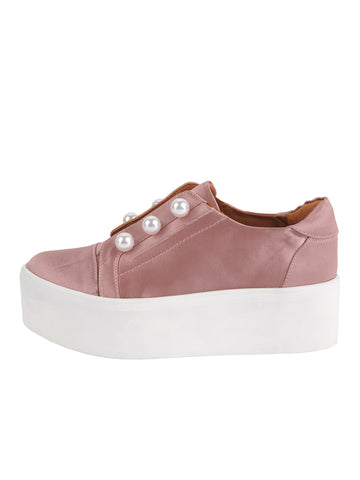 Womens Blush Satin Val 2