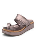 Womens Pewter Roxy Sandal