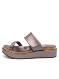 Womens Pewter Roxy Sandal 2