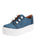 Womens Steel Blue Satin Val Alternate View