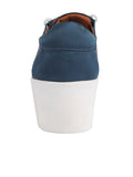 Womens Steel Blue Satin Val 4