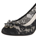 Womens Black Lace Valerie 6