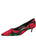 Womens Black/Red Bryn Kitten Heel Alternate View