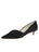 Womens Black Satin Brenna Kitten Heel Alternate View