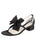 Womens Black Satin Isola Alternate View