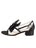 Womens Black Satin Isola 7