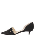 Womens Black Suede Cirrus 7