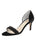 Womens Black Velvet d'Orsay Sandal Alternate View