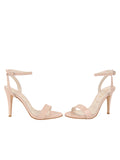 Womens Blush Patent Mobster 5