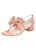 Womens Blush Satin Isola Alternate View