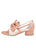 Womens Blush Satin Isola 7