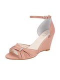 Womens Blush Satin Queenie