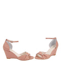 Womens Blush Satin Queenie 5
