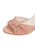 Womens Blush Satin Queenie 6