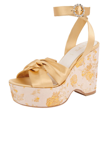 Womens Gold Romance Serena Alternate View