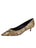 Womens Gold Snake Belles Pointed Toe Kitten Heel Alternate View