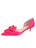 Womens Hot Pink Cliff d'Orsay Kitten Heel Alternate View