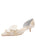 Womens Ivory Romance Cliff d'Orsay Kitten Heel Alternate View