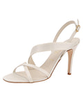 Womens Ivory Satin Hallie