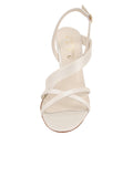 Womens Ivory Satin Hallie 4