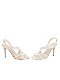 Womens Ivory Satin Hallie 5