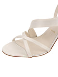 Womens Ivory Satin Hallie 6