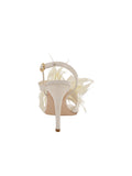 Womens Ivory Satin Hagan 2