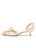 Womens Moonbeam Satin Cliff d'Orsay Kitten Heel 7