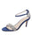 Womens Navy Satin Gemma Alternate View