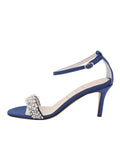 Womens Navy Satin Gemma 7