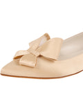 Womens Nude Satin Carly 6