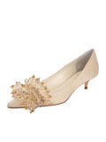 Womens Nude Satin Britt