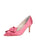 Womens Rose Pink Pointed Toe Pump Alternate View