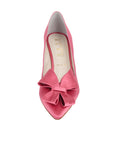 Womens Rose Pink Pointed Toe Pump 4