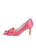 Womens Rose Pink Pointed Toe Pump 7